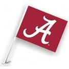 Alabama Crimson Tide Car Flags - 1 Pair