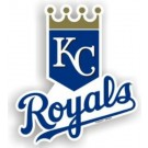 "Kansas City Royals 12"" Car Magnets - Set of 2"