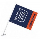 Detroit Tigers Car Flags - 1 Pair