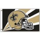 New Orleans Saints 3' x 5' Helmet Design Flag