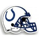 "Indianapolis Colts 12"" Helmet Car Magnets - Set of 2"
