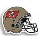 "Tampa Bay Buccaneers 12"" Helmet Car Magnets - Set of 2"