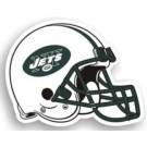 """New York Jets 12"""" Helmet Car Magnets - Set of 2"""