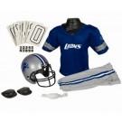 Franklin Detroit Lions DELUXE Youth Helmet and Football Uniform Set (Medium)