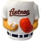 Houston Astros Jersey Can Coolers - Set of 4