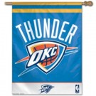 "Oklahoma City Thunder 27"" x 37"" Vertical Flag / Banner"