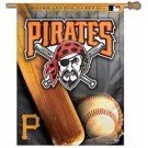 "Pittsburgh Pirates 27"" x 37"" Vertical Flag / Banner"