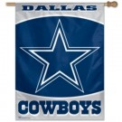 "Dallas Cowboys 27"" x 37"" Vertical Flag / Banner from WinCraft"