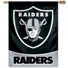 "Oakland Raiders 27"" x 37"" Vertical Flag / Banner from WinCraft"