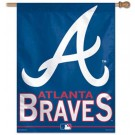 "Atlanta Braves 27"" x 37"" Vertical Flag / Banner"