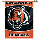 "Cincinnati Bengals 27"" x 37"" Vertical Flag / Banner from WinCraft"