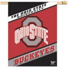 "Ohio State Buckeyes 27"" x 37"" Vertical Flag / Banner"