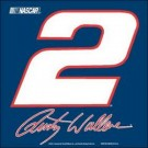 Rusty Wallace #2 Car Flag
