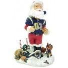 St. Louis Rams Santa Claus Bobble Head Doll from Forever Collectibles