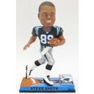 Steve Smith Carolina Panthers On Field Bobble Head Doll from Forever Collectibles