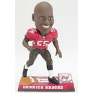 Derrick Brooks Tampa Bay Buccaneers On Field Bobble Head Doll from Forever Collectibles