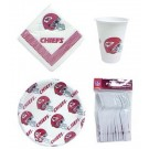 Kansas City Chiefs Tailgate Party Pack Utensil Set