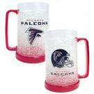 Atlanta Falcons Plastic Crystal Freezer Mugs - Set of 4