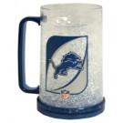 Detroit Lions Plastic Crystal Freezer Mugs - Set of 4