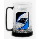 Carolina Panthers Plastic Crystal Freezer Mugs - Set of 4