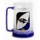 Baltimore Ravens Plastic Crystal Freezer Mugs - Set of 4