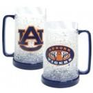 Auburn Tigers Plastic Crystal Freezer Mugs - Set of 4