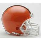 Cleveland Browns 2005 Riddell Throwback Replica Mini Helmet with Z2B Face Mask