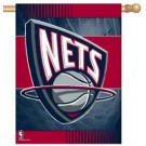 "New Jersey Nets 27"" x 37"" Vertical Flag / Banner"