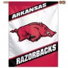 """Arkansas Razorbacks 27"""" x 37"""" Vertical Flag / Banner"""