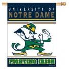 "Notre Dame Fighting Irish 27"" x 37"" Vertical Flag / Banner"