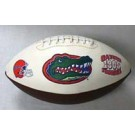 Florida Gators Embroidered Full Size Football from Fotoball