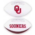 Oklahoma Sooners Embroidered Full Size Football from Fotoball