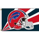 Buffalo Bills 3' x 5' Helmet Design Flag from Fremont Die
