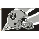 Oakland Raiders 3' x 5' Helmet Design Flag from Fremont Die