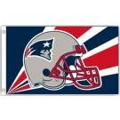 New England Patriots 3' x 5' Helmet Design Flag from Fremont Die