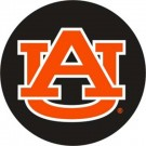 Auburn Tigers NCAA Licensed Standard Black Tire Cover