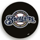 Milwaukee Brewers MLB Licensed Standard Black Tire Cover