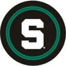 Michigan State Spartans NCAA Licensed Standard Black Tire Cover