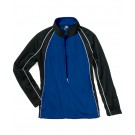 "The ""Kids' Collection"" Girls' Olympian Warm-up Jacket from Charles River Apparel"