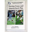 """Passing Game and Quarterback Play"" (video) by Larry Mankins (VHS)"
