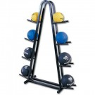 Double Sided Medicine Ball Rack (Holds 8 balls)