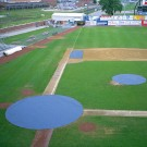 20' Circular Heavy Duty Pitcher's Mound Cover