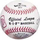 Worth RIF® Level 5 Little League Baseballs - Ages 8 - 12 (1 Dozen)