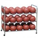 Double-Wide Steel Ball Cart