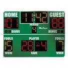 MacGregor® 6' x 8' Basketball Scoreboard