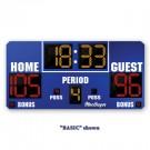 MacGregor® 4' x 8' Basketball Scoreboard with Double Bonus