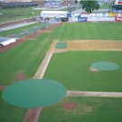 20' Circular Ultra-Lite Pitcher's Mound Cover