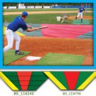 Large Bunt Zone Major League Infield Protector/Trainer - 20' x 24' x 64'