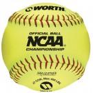 "Worth NC12L NCAA 47/400 12"" Fastpitch Softballs (1 Dozen)"