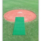 4' x 12' Synthetic Turf Pitcher's Mat